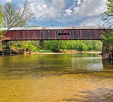 Cox Ford Covered Bridge by Kenneth Keifer