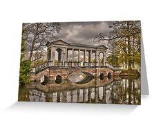 Marble Bridge, Pushkin Greeting Card