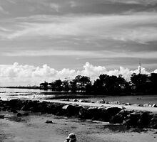 Child's Beach Play by D-GaP