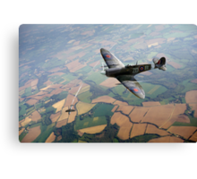 Spitfire victory Canvas Print