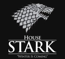 House Stark (Black) by ShirThrones
