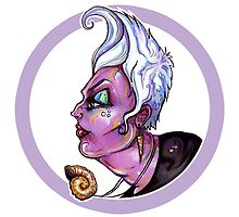 Lady of the Dark – Ursula by Sam Pea
