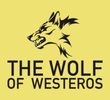 The Wolf of Westeros by ShirThrones