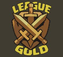 gold league clash of clan by Trish08