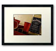 Red Solo Cups Framed Print