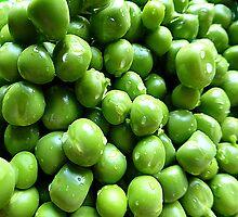 Peas Throw Cushion by Fara
