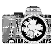 camera - holiday snaps Photographic Print