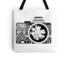 camera - holiday snaps Tote Bag