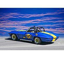 1964 Corvette Vintage Racecar II Photographic Print