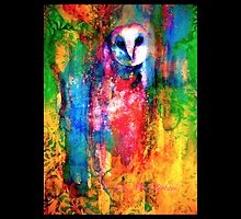 The Owl Masquerade by © Janis Zroback