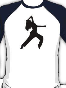 Freestyle dancing girl T-Shirt