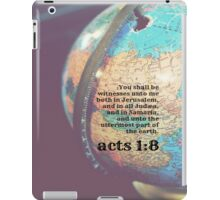Acts 1 Witnesses iPad Case/Skin