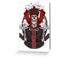 Retro - Karthus the Deathsinger Greeting Card