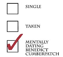 Single/taken/mentally dating Benedict Cumberpatch design :) by heidilauren27
