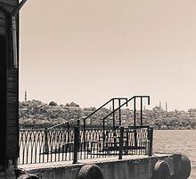 docks and sea by saaton