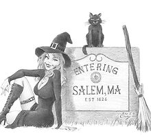 Entering Salem by miketcherry