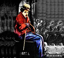 ☁ ☂ REMEMBERING CHARLIE CHAPLIN THROW PILLOW ☁ ☂ by ╰⊰✿ℒᵒᶹᵉ Bonita✿⊱╮ Lalonde✿⊱╮