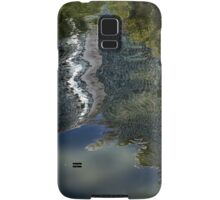 Capricious Green Sunspots, Shadows and Reflections Samsung Galaxy Case/Skin