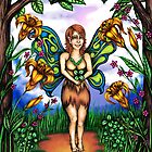Luck of the Tiger Lily Fairy by TASIllustration