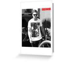 Ryan Gosling, Macaulay Culkin Inception Shirt Greeting Card