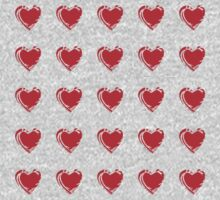 Little Red Hearts  Kids Clothes