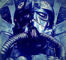 TIE fighter pilot  by Armandorov