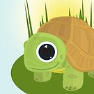 Turtle - In grass by Adamzworld