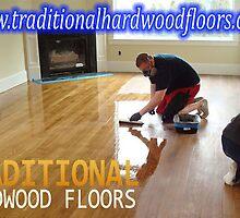 Hardwood Floor Installation by rooneymaraa