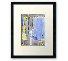 Selfs, saints, souls and ghosts V Framed Print
