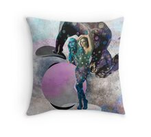 Pink Moon - Throw Cushion Throw Pillow