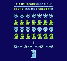 Dr Who: Space Invader by GarfunkelArt