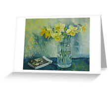 Spring smile Greeting Card
