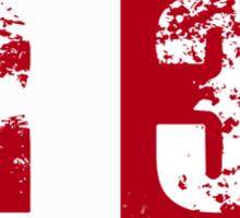 R36 (red) Sticker