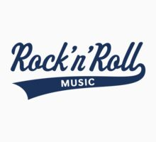 Rock 'n' Roll – Music (Blue) by MrFaulbaum