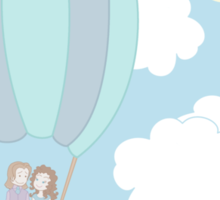 Rumbelle Balloon Flight Sticker