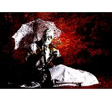 THE MADONNA QUERY Photographic Print