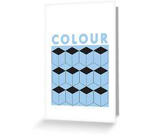 colour Greeting Card
