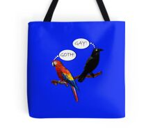 Let's Not Jump to Conclusions Tote Bag