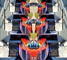 The Head Hiding, Afraid of Riding, Roller Coaster Madmen!! by kenspics