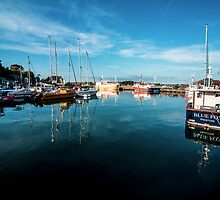 Padstow Harbour  by Rob Hawkins