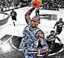 Kevin Garnett Dunk by jwelsh97