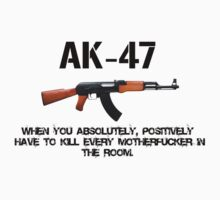 AK-47 Killing Machine by PuppaBear27