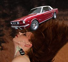 ❀◕‿◕❀U DROVE A MUSTANG THROUGH MY MIND LAST NIGHT -FUN UNIQUE THROW PILLOW❀◕‿◕❀  by ╰⊰✿ℒᵒᶹᵉ Bonita✿⊱╮ Lalonde✿⊱╮