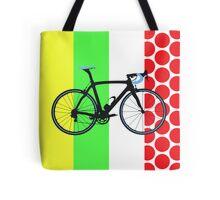 Bike Tour de France Jerseys (Vertical) (Big - Highlight)  Tote Bag