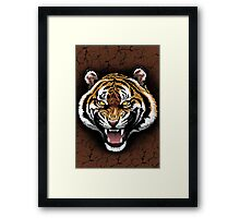 The Tiger Roar Framed Print