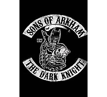 Sons Of Arkham The Dark Knight Photographic Print