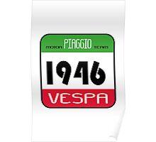 VESPA 1946 Poster