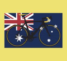 Bike Flag Australia (Big - Highlight) by sher00