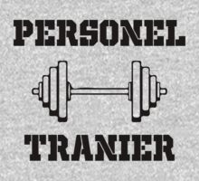 Personal Trainer by designshoop