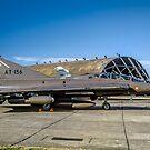 SAAB TF-35 Draken 351156 AT-156 by Colin Smedley